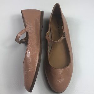 Nwot Lucky Brand Patent leather Mary Jane flats 12